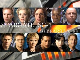 Stargate SG-1 ten years later by tibots