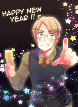 Happy New Year 2017 by SackDrawer