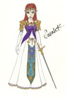 Princess Zelda (updated) by singstargirl13