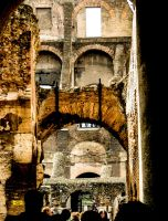 Roman Arch by Thishumanbeing
