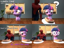 NSMM Comic- Horse Steak (Gmod) by ErichGrooms3