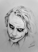 The Joker by ROSSJCBR