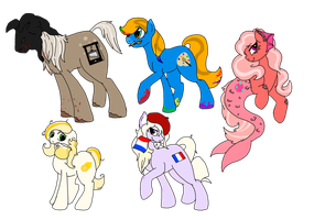 Mlp Draw to Adopts 2 by wolf-wishes