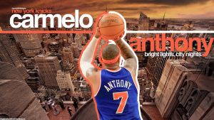 Carmelo Anthony Knicks NYC by IshaanMishra