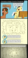 Friendship is Magic: Food for Thoughts #1 by FiMStargazer
