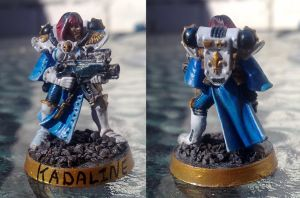 sister of battle painted proto by kenofchaos