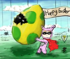 super boy gets the wrong egg by hot-patato