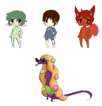 (Open) Chibis and Skink Adopts by Every-Price-Adopts