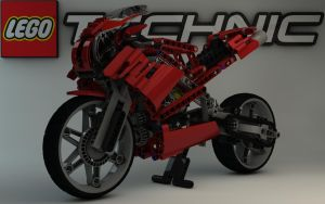 LEGO TECHNIC Street Bike 8420 II by Dracu-Teufel666