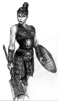 Countess of Courage, Warrior by arcanemacabre