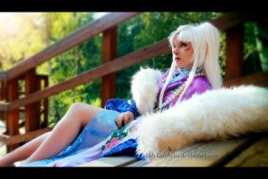 Sesshomaru's mother by LadyKnightLia