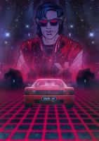 1986 Testarossa nightdrive by rejectsocietyfx