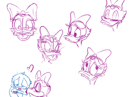 Daisy Doodles by WDisneyRP-DonaldDuck