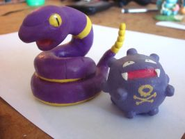 Poison Pocket Monsters by PokeSculpt-a-Mon