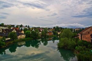 Riverside view from the bridge by luka567