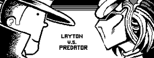 Layton vs. Predator by MEGABLUR