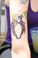 Beetlejuice Lydia tattoo by LaurenWiles