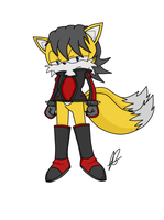 Miles Prower(Evil Tails/Anti Tails) redesign by JessSpeedster
