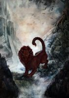 The Manticore by depingo
