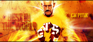 Best In The World - CM PUNK by Bercikovsky