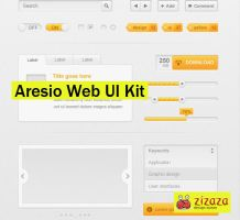 Alesio Web UI Kit by DarkStaLkeRR