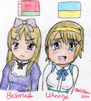 Russia's Sisters by cleris4ever