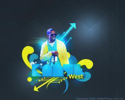 Kanye west wallpaper 2 by Its-Meeee