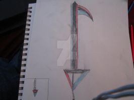 Elemental Fang Keyblade by Wolf-Prince-Leon
