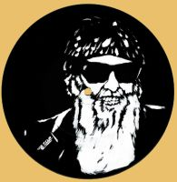 Billy Gibbons by neoyurin