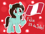Felices Fiestas Patrias !! by Atsuza