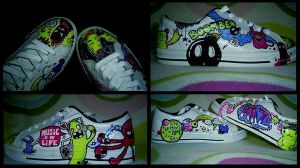 Boomber shoes.END by billionaire-girl