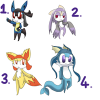 Pokemon theme keronian adopts#1 {closed!} by Kirara-Souchou