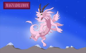 Magnadramon by Louisetheanimator