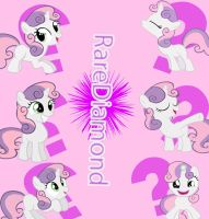 Request : Sweetie Belle DeviantID card by Twilightsparkless