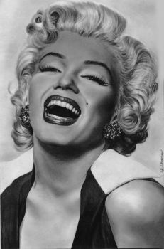 happy marilyn by aramismarron