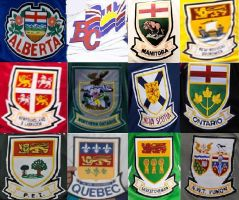 Brier Provincial Shield Collage by uwpg2012