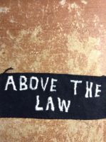 Above the law by inkdrawn
