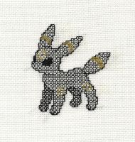 +BLACKWORK+ Umbreon by gatchacaz