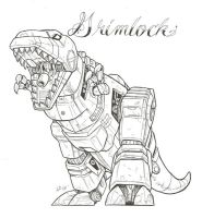 grimlock by optimuspint