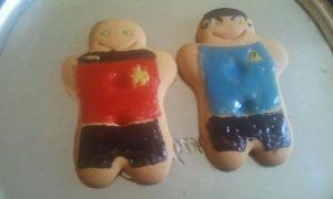 Star trek Gingerbread by Amyxmoo