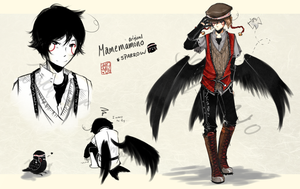 [CLOSED] Mamemamono Adopt ver. Sparrow by mayoujii