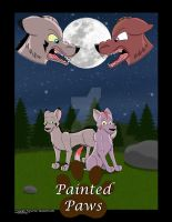 Painted Paws Comic Cover by Mytokyokitty