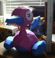 Porygon 2 Papercraft by Evadine