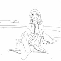Rapunzel Tickled By Evil Amy Gif by amyroseater