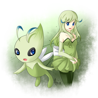 Celebi's Forest by Winoa