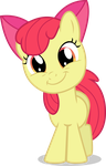 Apple Bloom Is All Smiles by TomFraggle