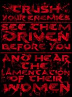 Conan Bloody Quote by Rennis05