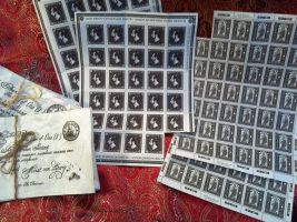 Stamps of Ankh Moorpork by OttotheConfused