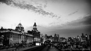 The Bund - All that ture Shanghai XVIII by longbow
