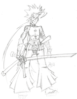 Ren-Anji doodle by ReluctantZombie